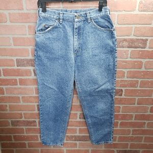 Vintage Lee High Rise Mom Jeans Size 12 Petite